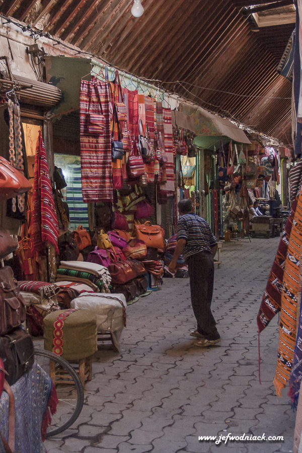 Le souk de Marrakech