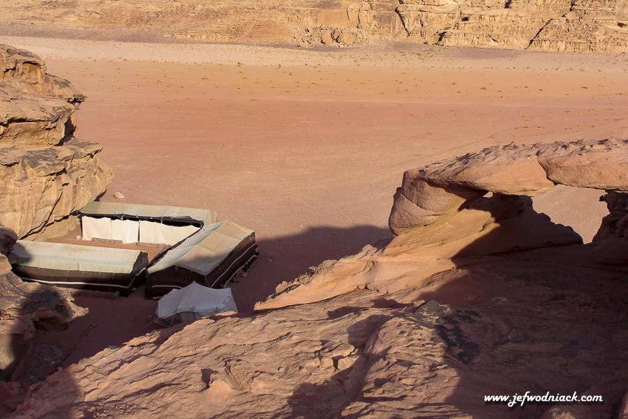 Le campement du Wadi Rum