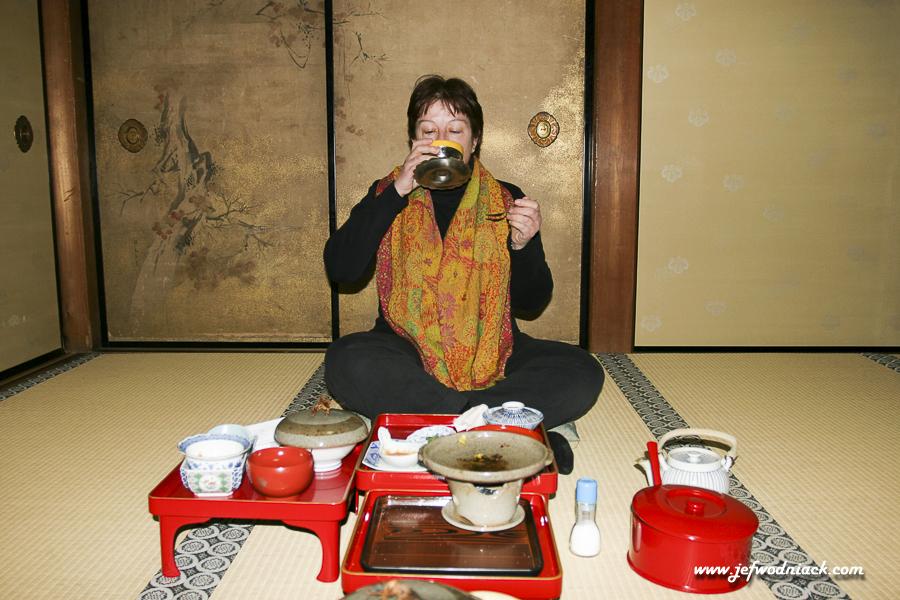 Temple ryokan Shojoshin