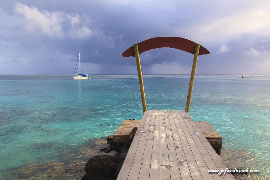 Polynésie: Huahiné, Marae et Ma a