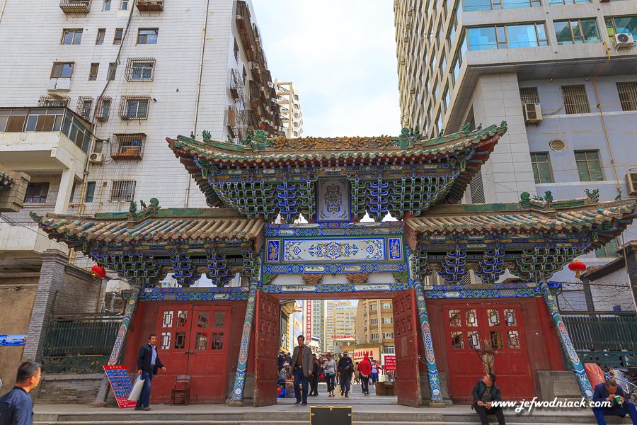 Vieux quartier à Lanzhou