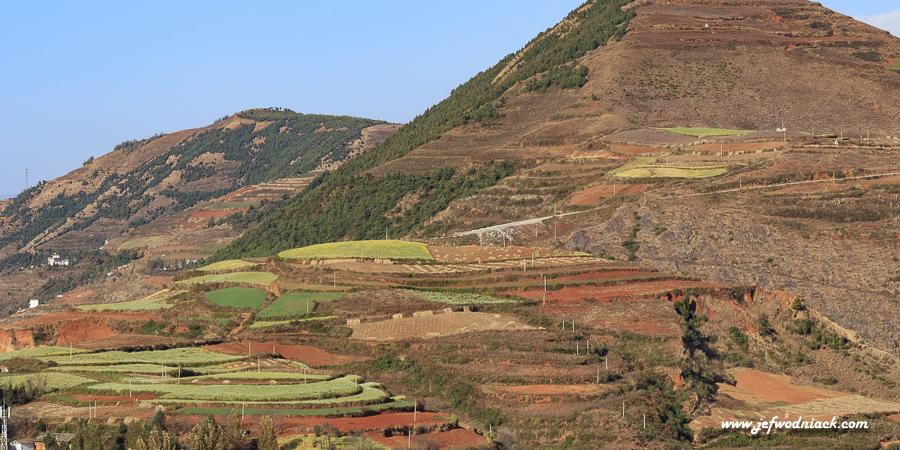 Chine: les terres rouges du Yunnan