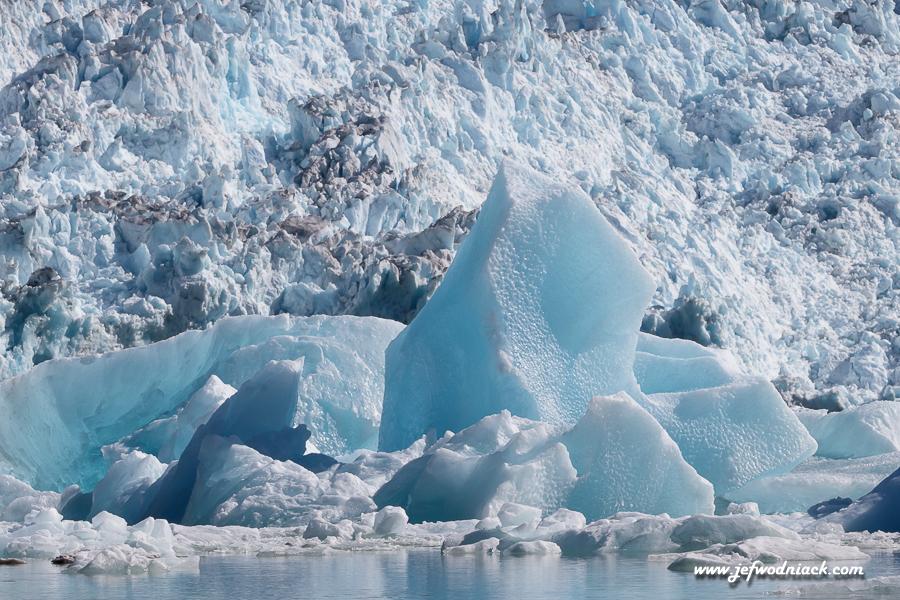 Glacier Sawyer dans le fjord Tracy Arm.