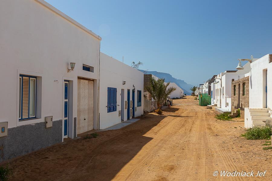 Une rue sur l'île de Graciosa