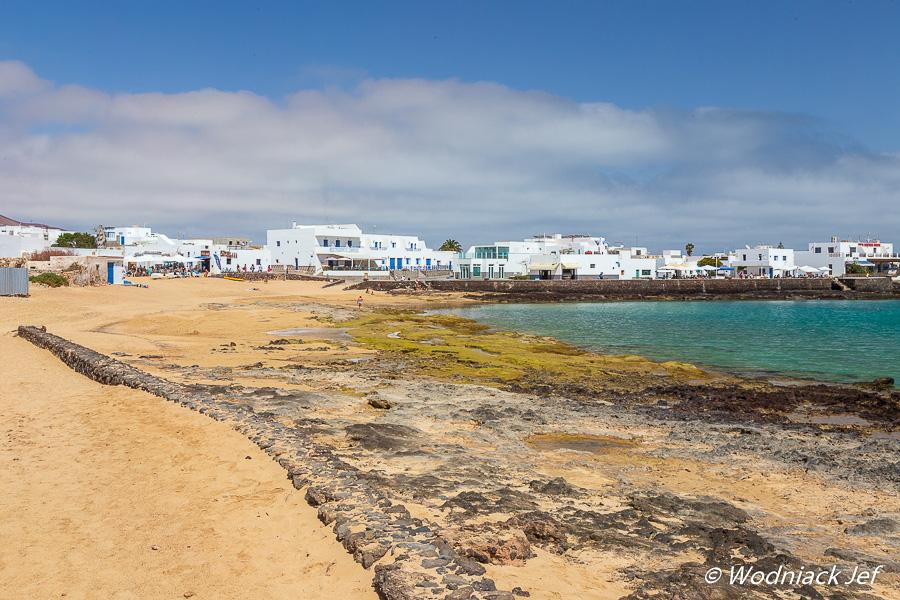 Maisons sur l'île de Graciosa